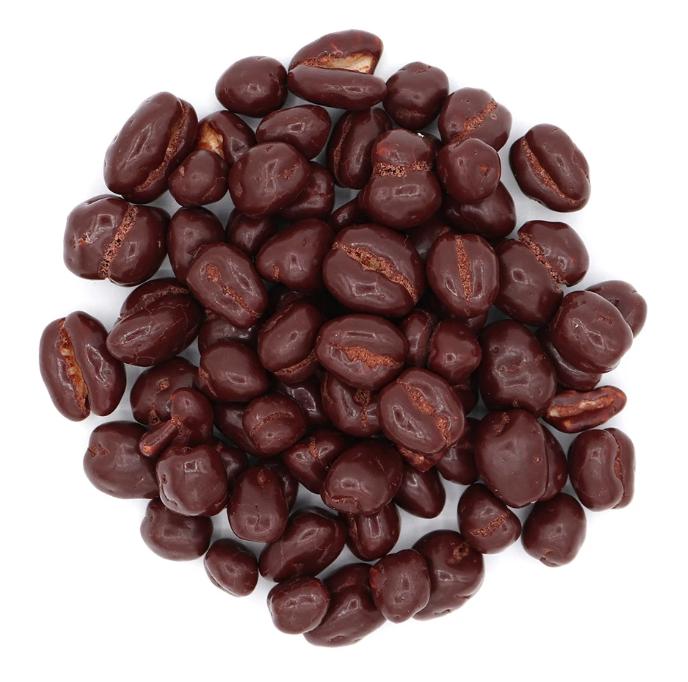 Japanese chocolate barley puffs