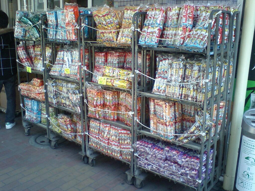 umaibo snacks japan