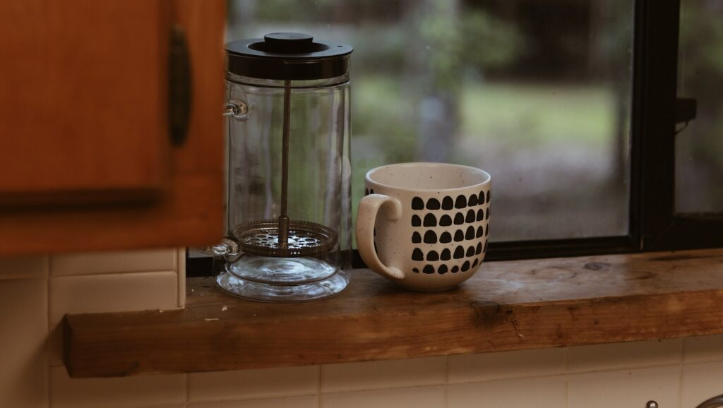empty french press