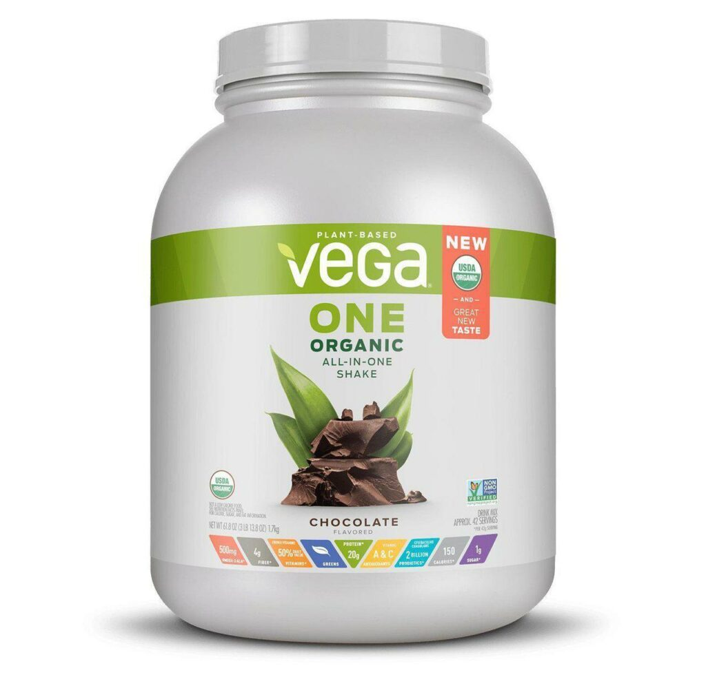 vegan protein canister