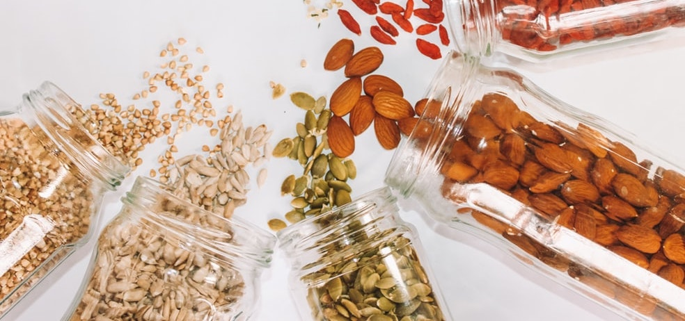 plant proteins nuts seeds