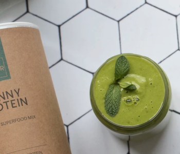 vegan protein green smoothie