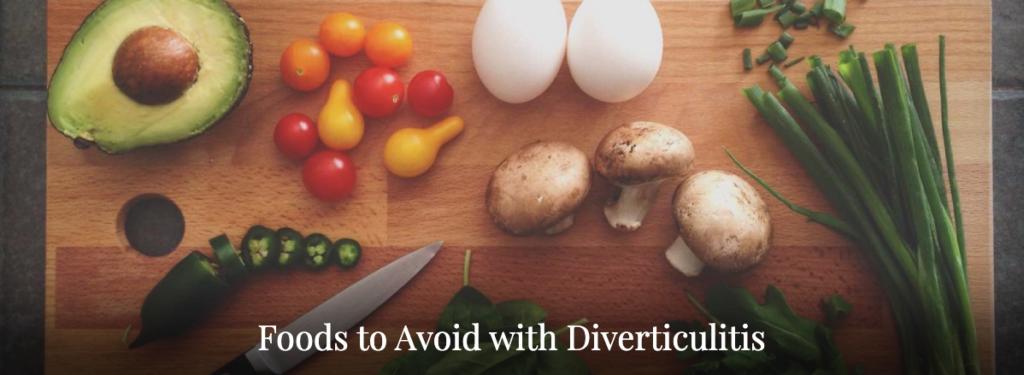 food avoid diverticulitis