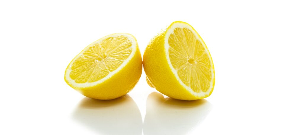 lemon juice is good for gout
